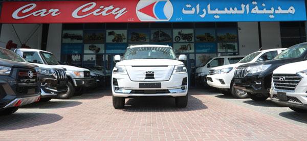 Nissan Patrol V6 SE Platinum City Edition full
